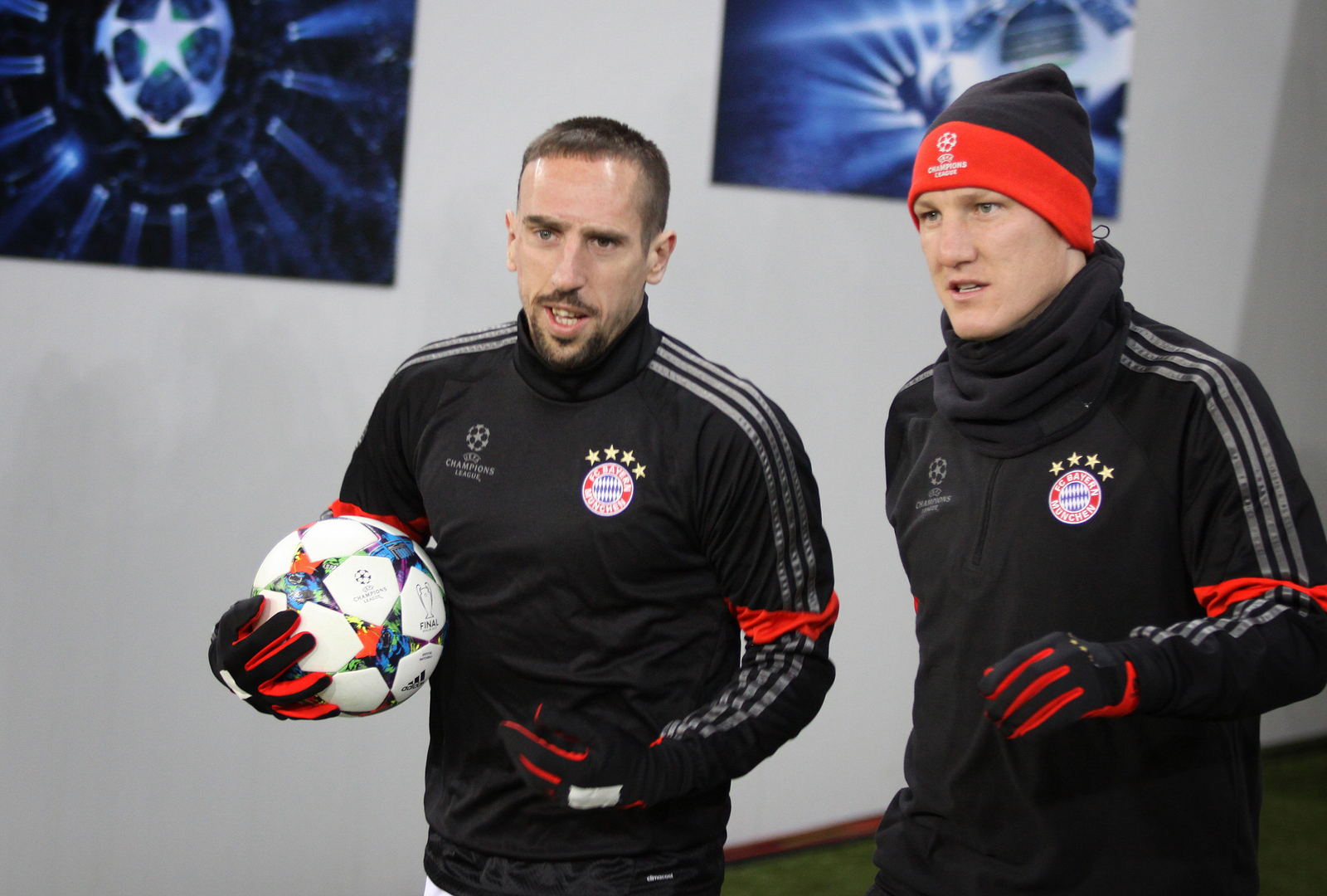 Schweinsteiger und Ribery