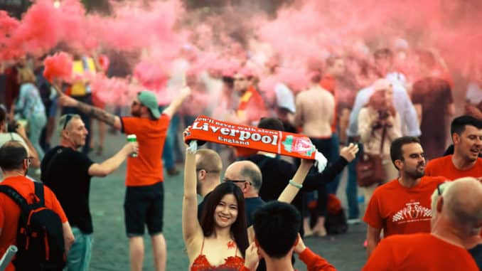 Fans vom FC Liverpool