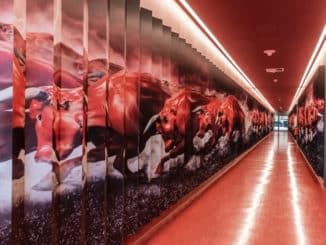RB Leipzig Tunnel