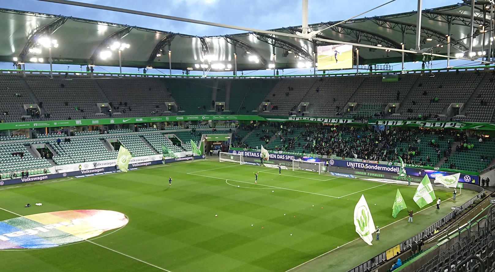 Wolfsburg gewinnt gegen Arminia Bielefeld am 5. Spieltag