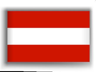Österreich Flagge