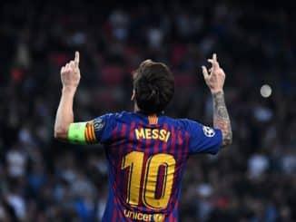 Barcelona Weltfußballer Lionel Messi