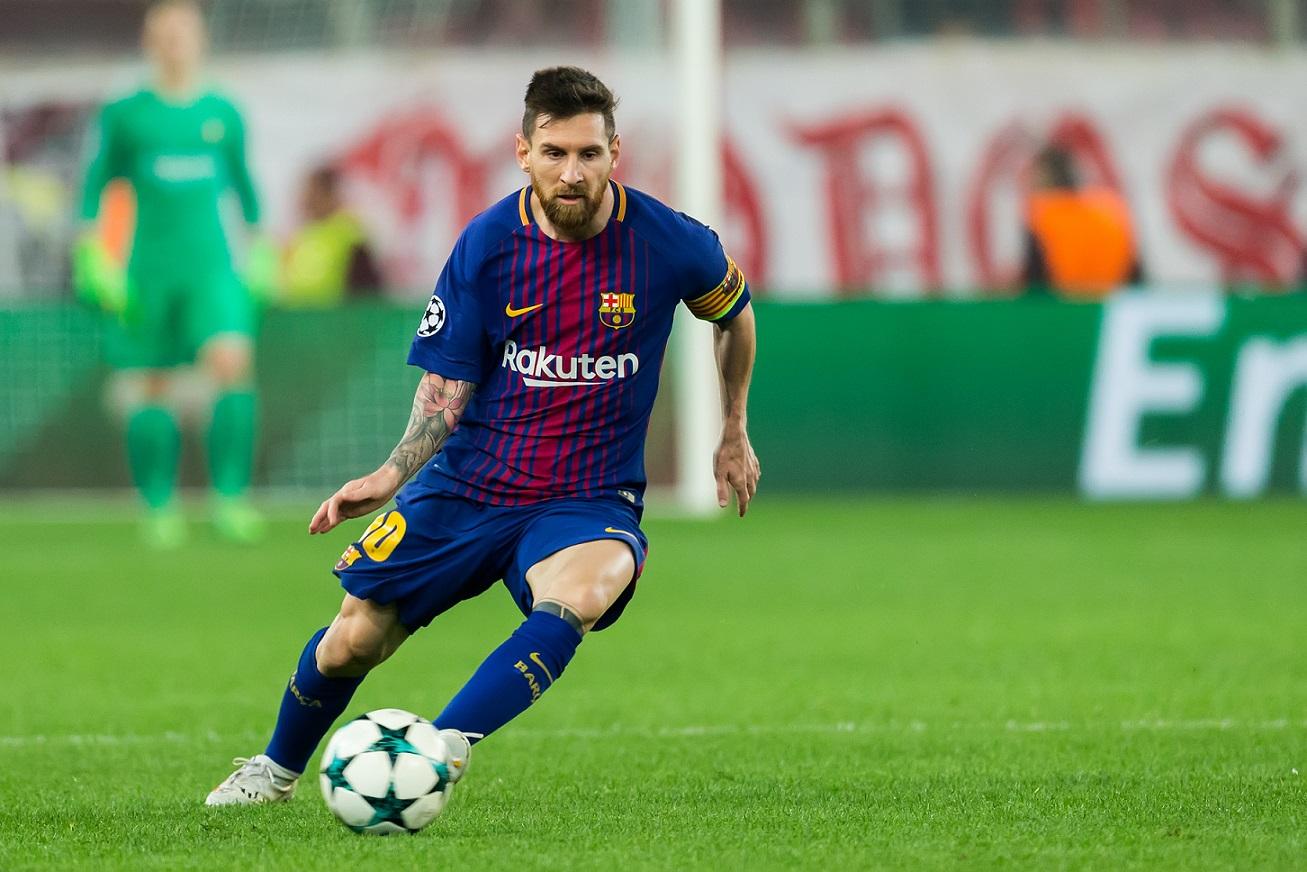 Lionel Messi Spieler vom FC Barcelona