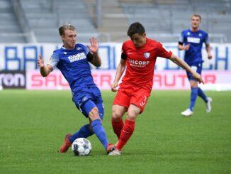 Karlsruhe kam gegen Bochum nicht über ein 0:0 hinaus. ©AFP