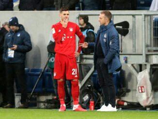 Lucas Hernandez tut sich schwer in München. ©AFP