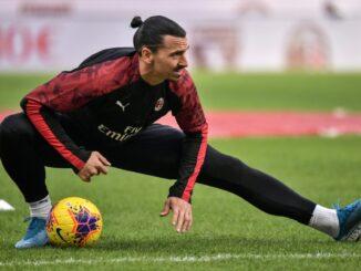 Ibrahimovic macht eine Wadenverletzung zu schaffen. ©AFP