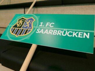 Der 1. FC Saarbrücken steigt in Liga drei auf. ©AFP