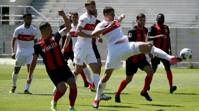 Stuttgart legte Einspruch gegen Wertung des Spiels ein. ©AFP