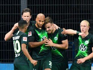 Wolfsburg gewinnt souverän mit 4:1 in Leverkusen. ©AFP