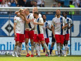 Hamburg holt wichtigen Sieg gegen Wiesbaden. ©PIXATHLON/SID