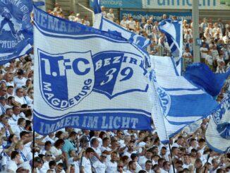 Drittligist Magdeburg respektiert die DFB-Entscheidung. ©AFP