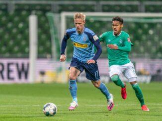Bremen und Mönchengladbach trennen sich torlos. ©AFP