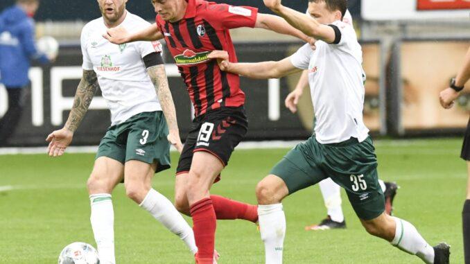 Bundesliga: Werder Bremen schlägt den SC Freiburg. ©AFP