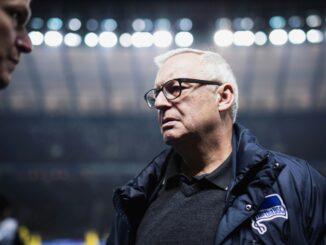 Gegenbauer gab Probleme bei Formulierungen der Hertha zu. ©AFP