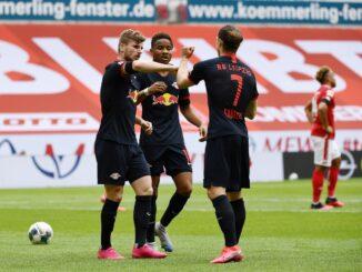 Leipzig holte gegen Mainz erneut einen Kantersieg. ©AFP