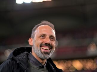 VfB-Trainer Pellegrino Matarazzo. ©AFP