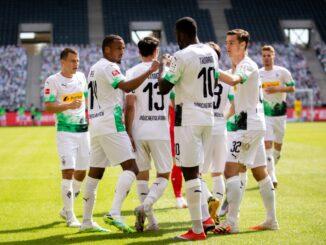Mönchengladbach besiegt Union Berlin souverän mit 4:1. ©FIRO/SID