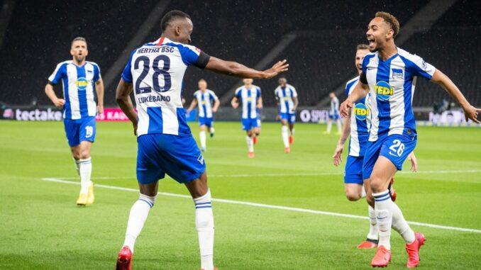 Hertha BSC gewinnt Stadtduell gegen Union deutlich. ©AFP