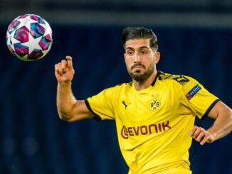 Emre Can könnte in Wolfsburg sein Comeback feiern. ©AFP