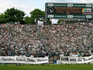 Das letzte Spiel am Bökelberg gewann Gladbach mit 3:1. ©AFP