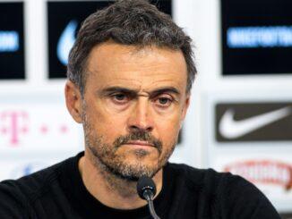 """Luis Enrique bezeichnet Geisterspiele als """"traurig"""". ©AFP"""