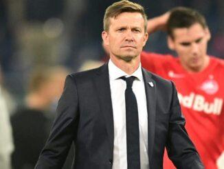 Pokalsieg für RB Salzburg und Trainer Jesse Marsch. ©PIXATHLON/SID .