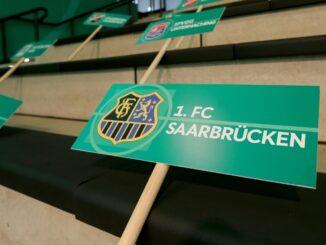 Saarbrücken gegen Bayer 04 findet in Völklingen statt. ©AFP