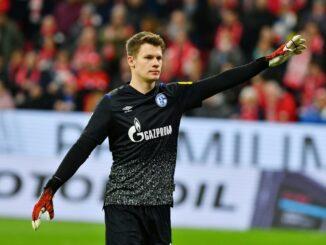 Medien: Nübel steht gegen Bremen im Tor von Schalke 04. ©PIXATHLON/SID