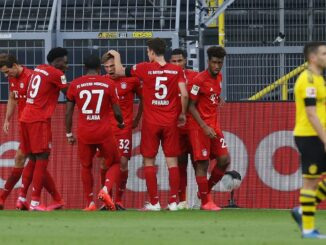 Bayern gewinnt dank eines Tores von Kimmich mit 1:0. ©AFP