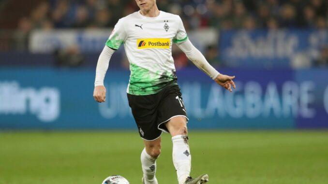 Oscar Wendt hängt ein weiteres Jahr in Gladbach dran. ©firo Sportphoto/SID firo Sportphoto/ Jrgen Fromme