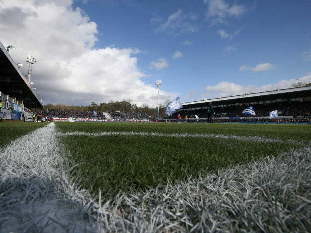 Spiel in Meppen findet statt. ©FIRO/SID