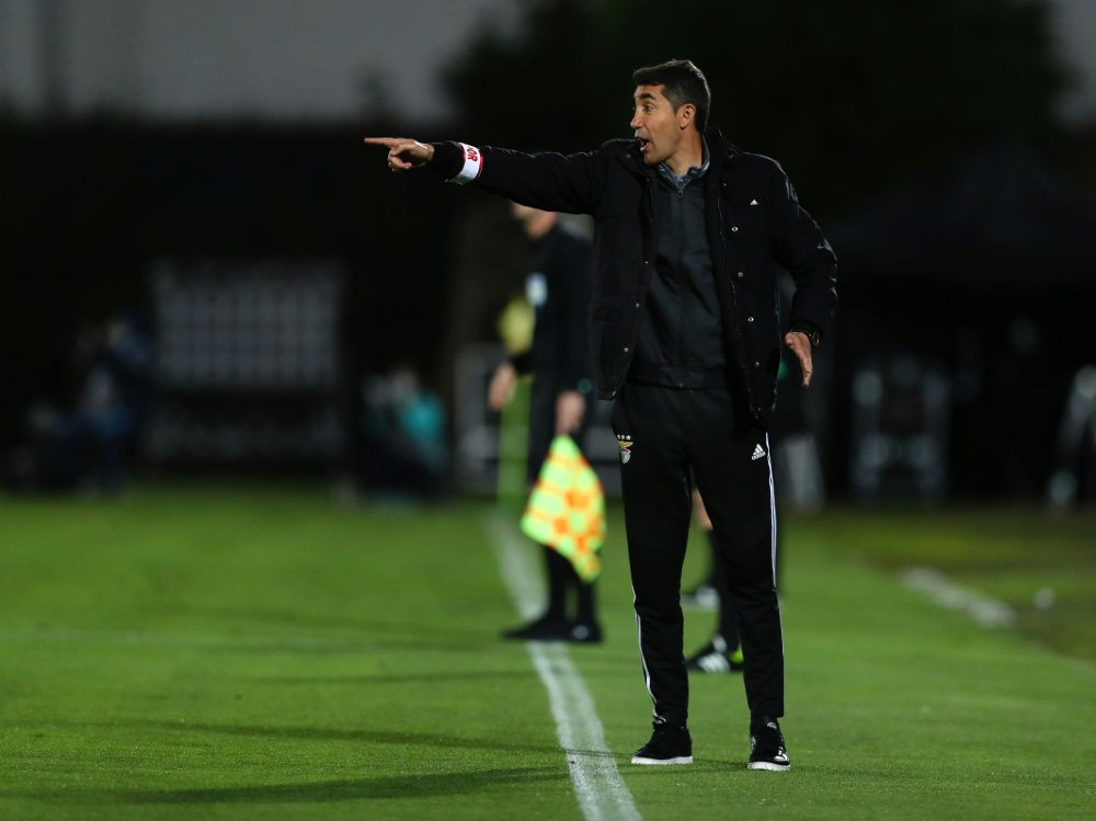Lage war seit Januar 2019 Coach bei Benfica. ©SID JOSE COELHO
