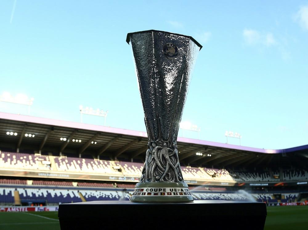 Europa-League-Turnier könnte in NRW stattfinden. ©firo Sportphoto/SID firo Sportphoto