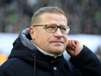 Max Eberl lobt Verfassung der Gladbacher Mannschaft. ©firo Sportphoto/SID firo Sportphoto/Ralf Ibing