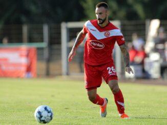 Diego Contento verlässt Bundesligist Fortuna Düsseldorf. ©FIRO/SID