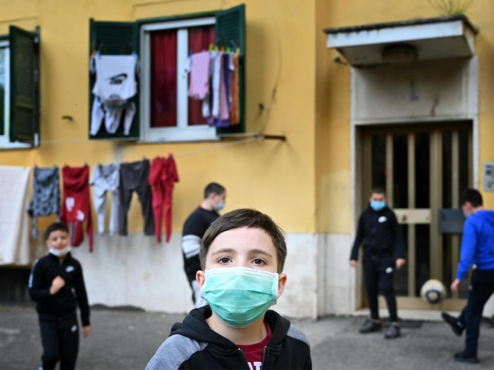 Common Goal unterstützt benachteiligte Kinder. ©SID ALBERTO PIZZOLI
