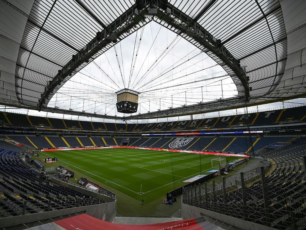 """Die Eintracht bleibt Hauptmieter des """"Waldstadions"""". ©PIXATHLON/SID"""