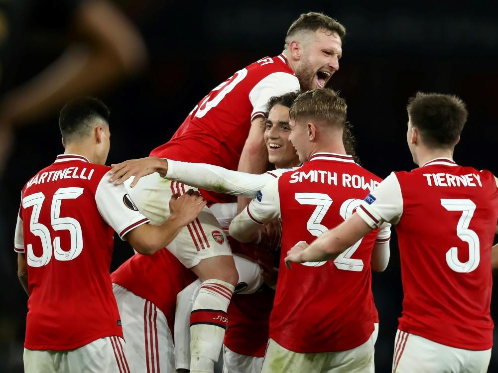 FA-Cup: Der FC Arsenal bezwingt Sheffield United 2:1. ©PIXATHLON/SID