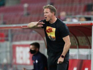 RB will Julian Nagelsmann unter allen Umständen halten. ©firo Sportphoto/SID Sebastian El Saqqa