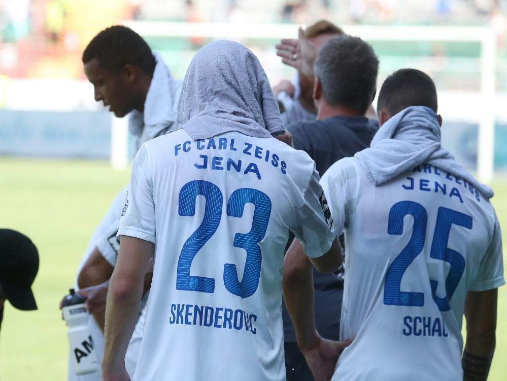 3.Liga: Carl Zeiss Jena ist Tabellenletzter. ©FIRO/SID