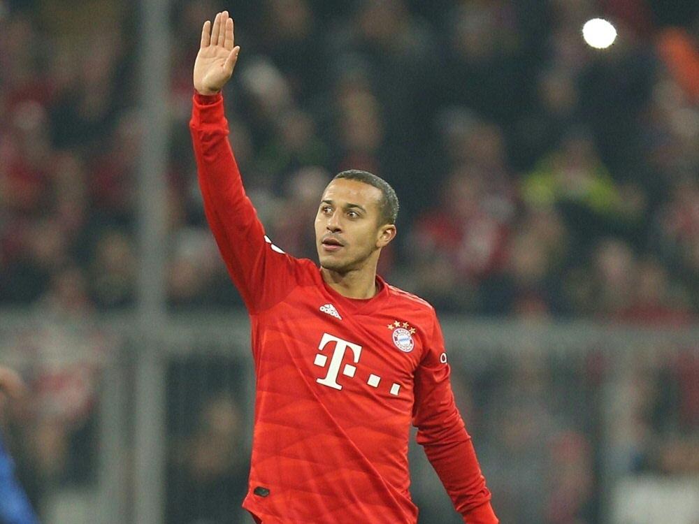 Pokal: Thiago steht dem FC Bayern wohl zur Verfügung. ©PIXATHLON/SID