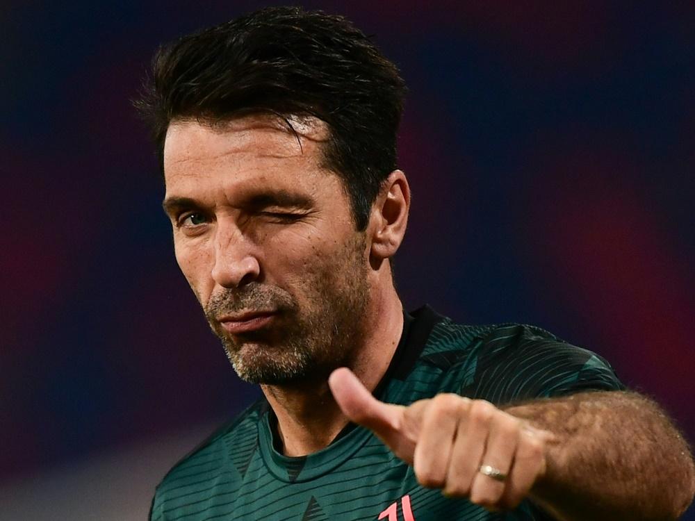 Juventus Turin: Buffon hängt noch ein Jahr dran. ©SID MIGUEL MEDINA