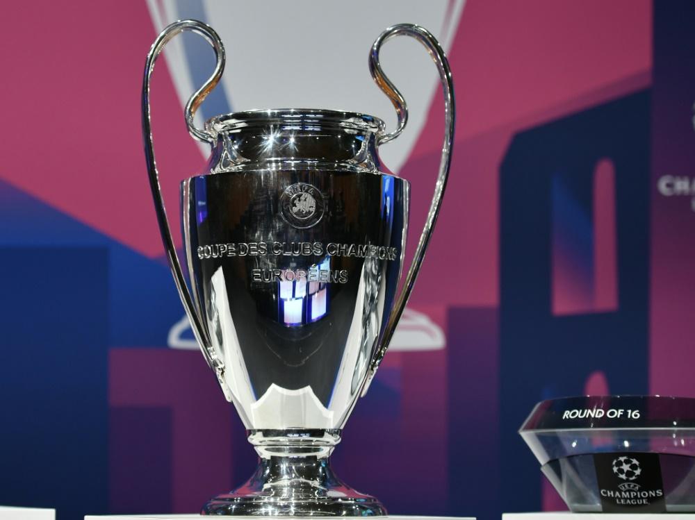 Champions League soll mit Finalturnier beendet werden. ©SID FABRICE COFFRINI