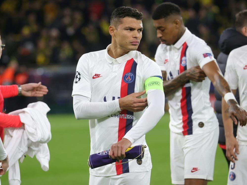 Paris bindet Thiago Silva für Finalturnier der Champions League