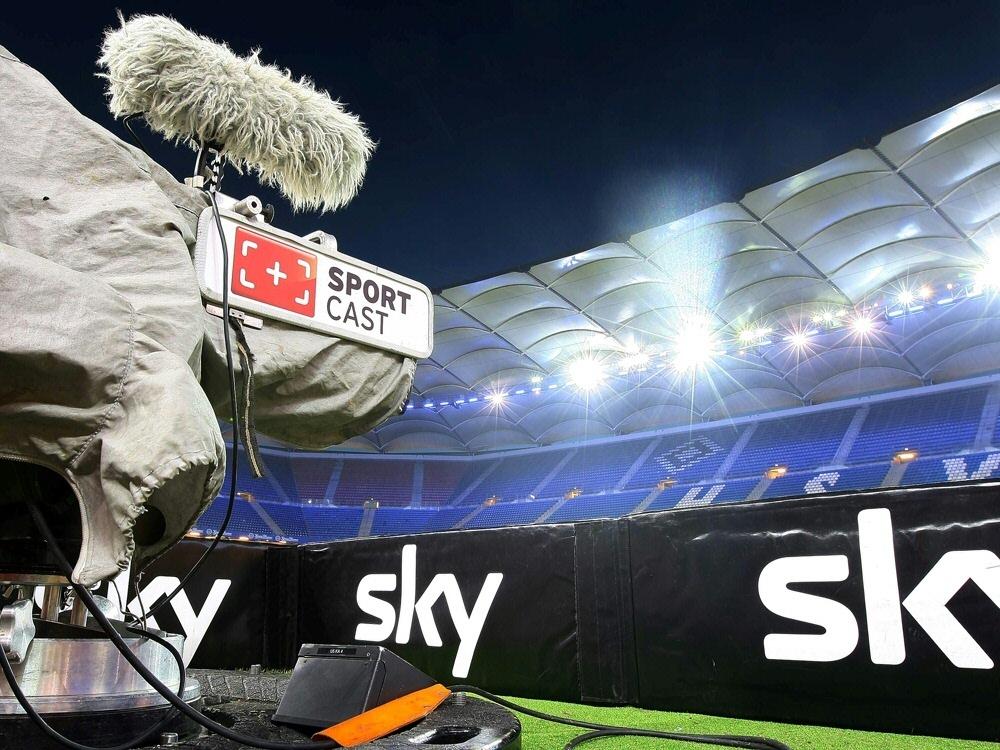 Über eine Million Zuschauer sehen HSV-Blamage bei Sky. ©FIRO/SID