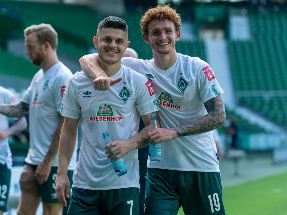 Relegation: Werder Bremen Favorit gegen Heidenheim. ©gumzmedia/nordphoto/FIRO/SID gumzmedia/nordphoto