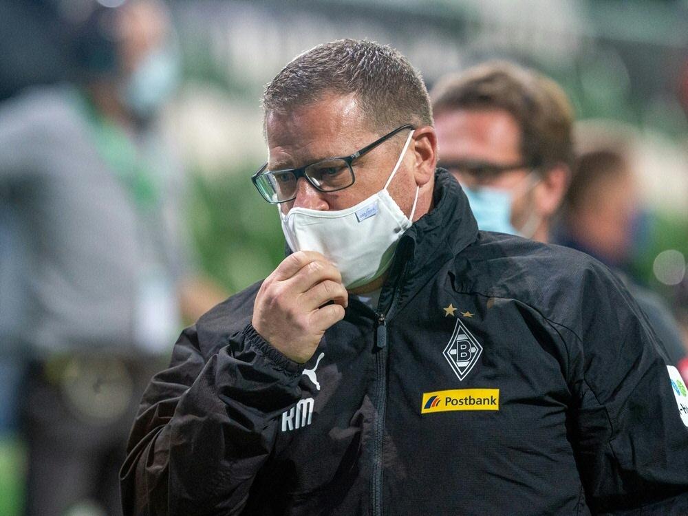 Sportdirektor Max Eberl sieht die Rote Karte. ©FIRO/SID
