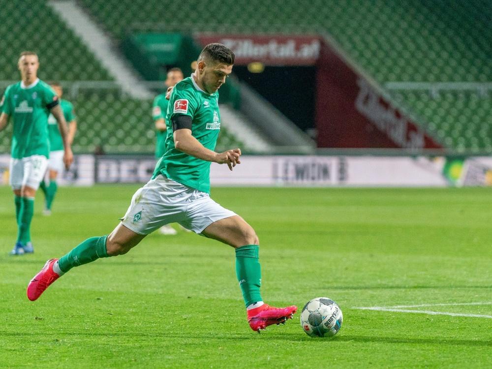 Milot Rashica spielt seit 2018 für Werder Bremen. ©FIRO/SID