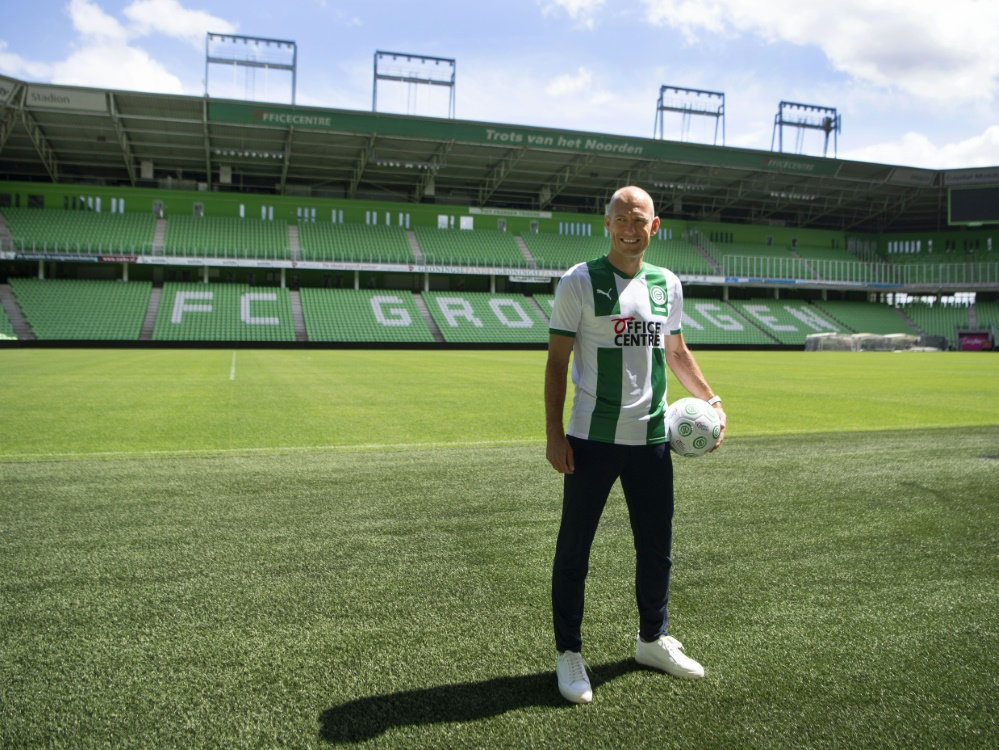 Robben erhält beim FC Groningen einen Einjahresvertrag. ©SID OLAF KRAAK