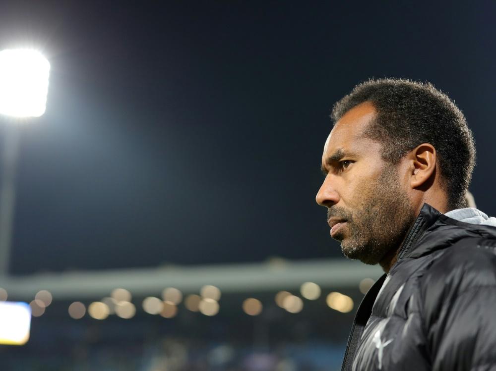 Thioune war zuvor Trainer des VfL Osnabrück. ©FIRO/SID